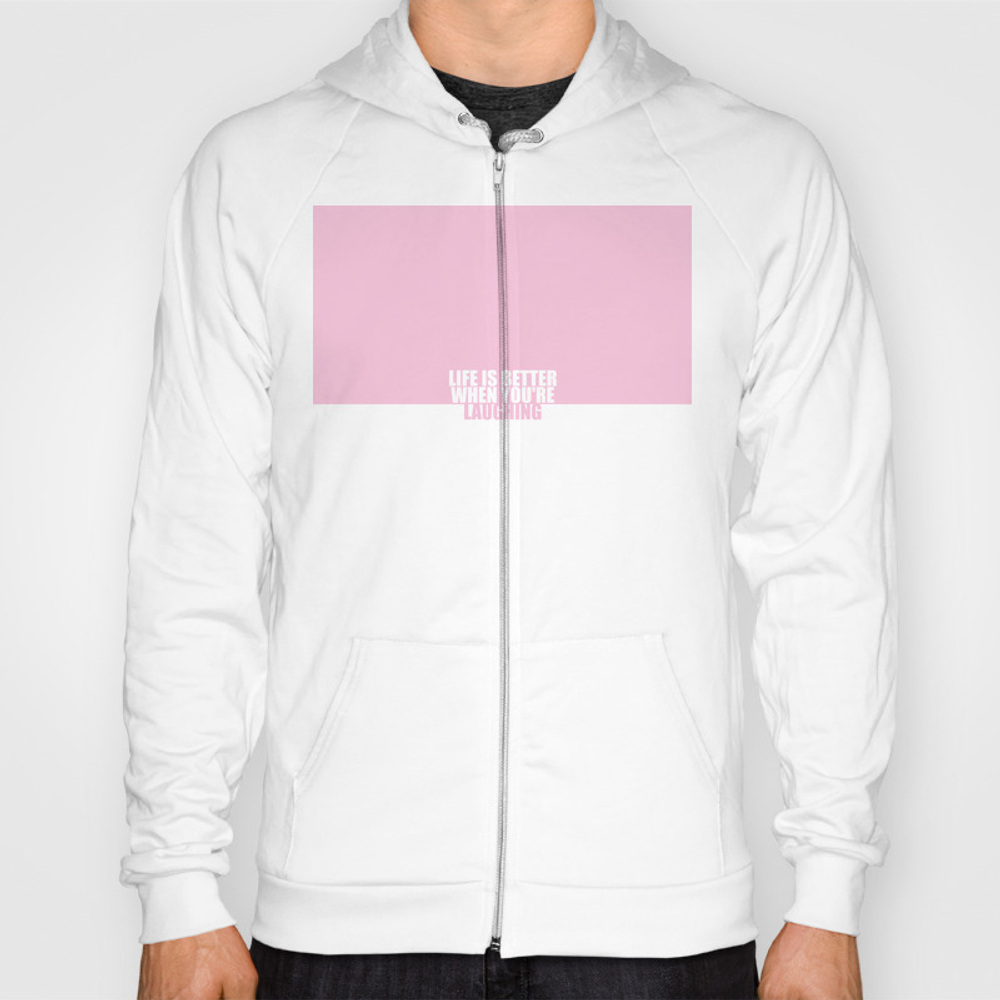 Life Is Better... Inspirational Quote Hoody by Twinklemehta SSR7650672