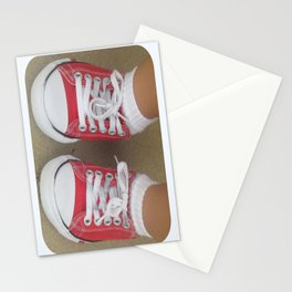 beauty in the mundane - my favorite pair of shoes Stationery Cards