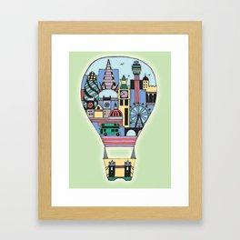 Hot Airballoon Framed Art Print