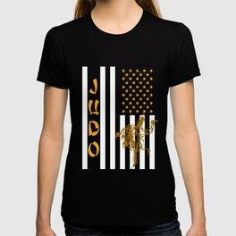 Patriotic American Judoist T-shirt