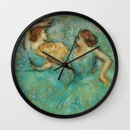Two Dancers Wall Clock