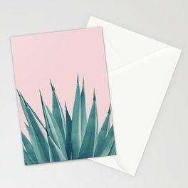 Blush Agave Dream #1 #tropical #decor #art #society6 Stationery Cards