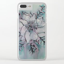 Love In A Mist Clear iPhone Case