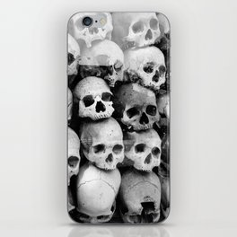 UNNESSASARY SACRIFICES // Skulls of Cambodia Killing Fields iPhone Skin