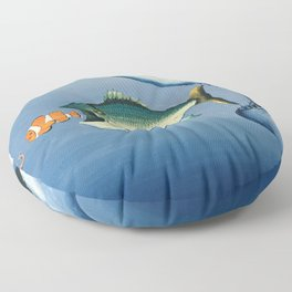 Fish Bait Floor Pillow