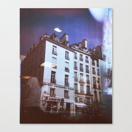 Paris Holga, Le Marais Canvas Print