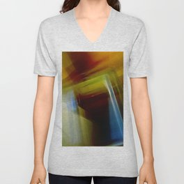 Abstract Composition 420 Unisex V-Neck