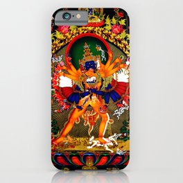 Hindu Kali 12 iPhone Case