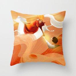 The Savior Throw Pillow