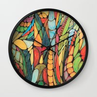 wizard Wall Clocks featuring Wizard by Alamogordo
