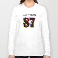 las vegas Long Sleeve T-shirts featuring Las Vegas by Joe Alexander