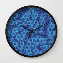 Nobody Leaves This Place Without Seeing the Blues Wall Clock