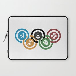 Zombie rings! Laptop Sleeve
