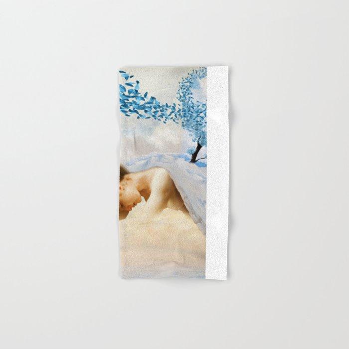 Winter's Mourn Hand & Bath Towel