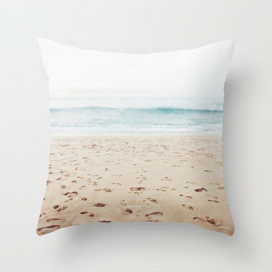 Guadalupe Beach Throw Pillow