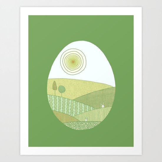 Easter Tale Art Print