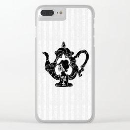 Memento Tea - Logo Clear iPhone Case