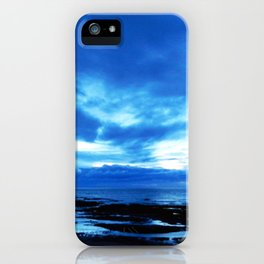Arm from Above Plays with the Sunset iPhone Case