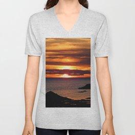 Sunrise Flight  Unisex V-Neck