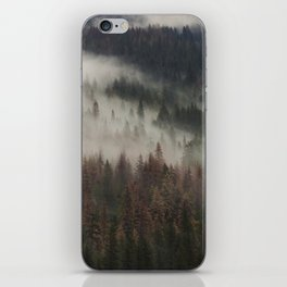 Foggy Pines | Yosemite, California | John Hill Photography iPhone Skin