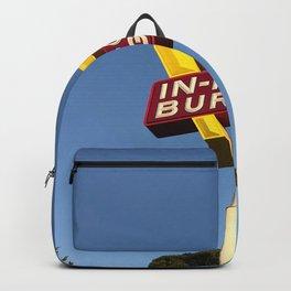 Retro burger Backpack