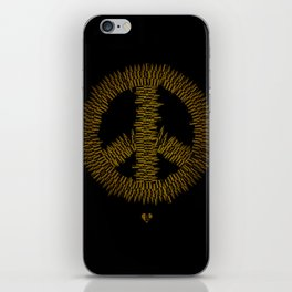 Bullet Peace iPhone Skin