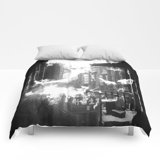 Skull City Comforters