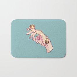 Hand Study No.1 // The Snails One Bath Mat