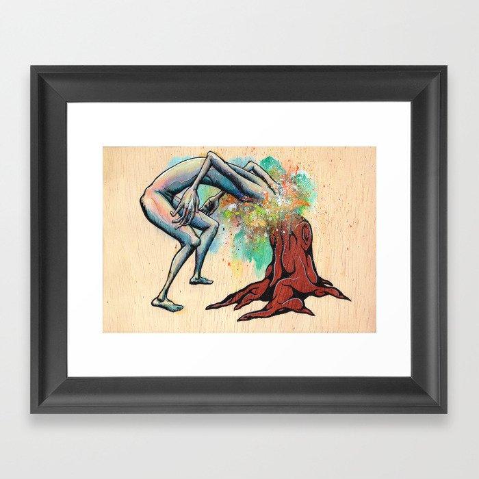 Ingrown Framed Art Print