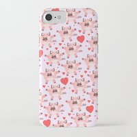 pigs iPhone & iPod Cases featuring pigs by elvia montemayor
