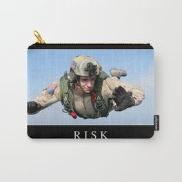 Risk: Inspirational Quote and Motivational Poster Carry-All Pouch