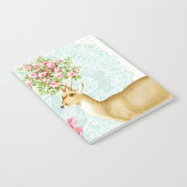 Doily deer Notebook