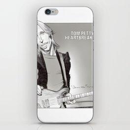 Tom Petty Caricature iPhone Skin