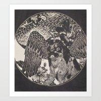 mythology Art Prints featuring mythology by Liss527