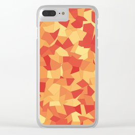 Fragments of Autumn Clear iPhone Case