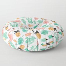 Flamingo Love Floor Pillow
