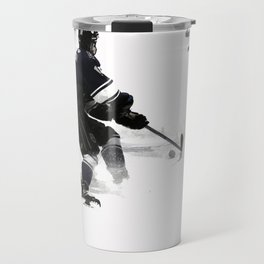 The Deke - Hockey Player Travel Mug