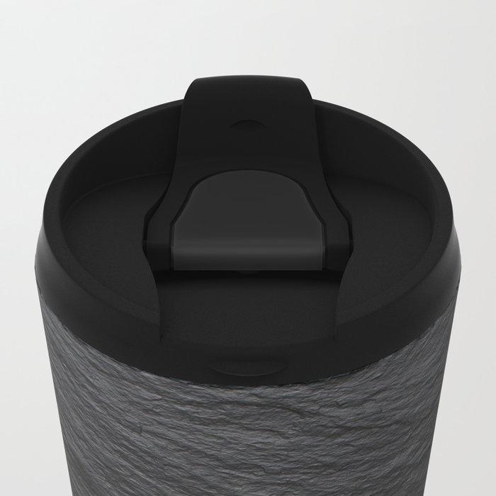 Black Slate Metal Travel Mug