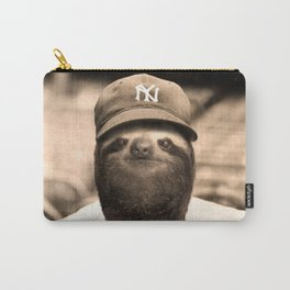 Baseball Sloth Carry-All Pouch