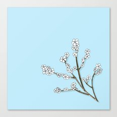 Paper and Twigs Canvas Print