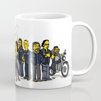 sons of anarchy Mugs featuring Sons Of Anarchy cast by Adrien ADN Noterdaem
