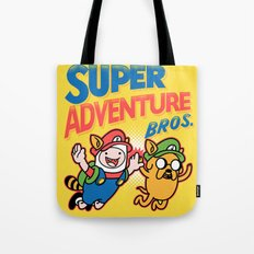 Super Adventure Bros Tote Bag