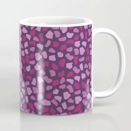 Burgundy Stones Coffee Mug