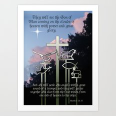 The Coming of the Son of Man Art Print