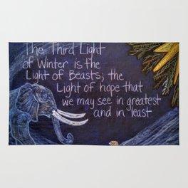 The Third Light of Winter Rug