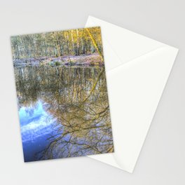 Peaceful Pond Reflections  Stationery Cards