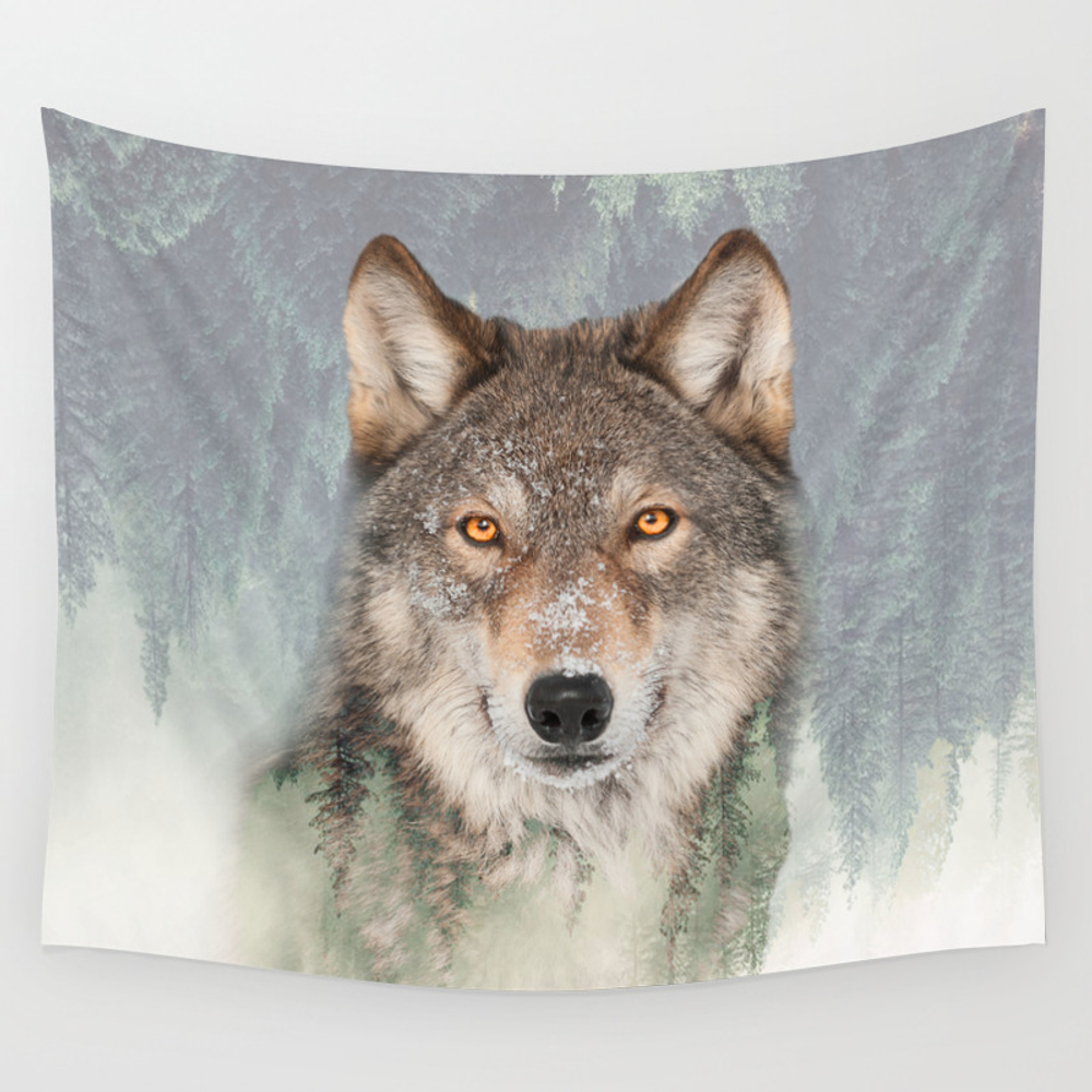 The Watchman Wall Tapestry by Robincurtiss TPS3964701