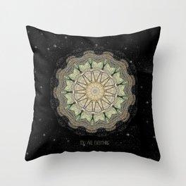 You are Everything Mandala Throw Pillow