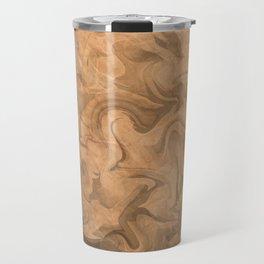 Liquify texture art Travel Mug