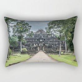 Baphuon Temple at Angkor Thom II, Siem Reap, Cambodia Rectangular Pillow